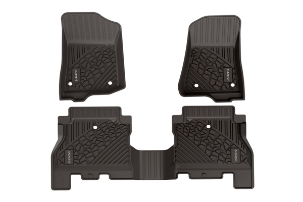 ADVCSZ9WLT / JEEP GLADIATOR 2020  FLOOR MATS 1 & 2ND ROW
