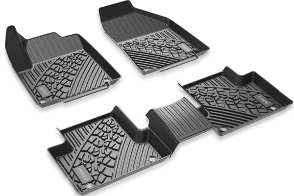 ADVC91XWJW / LINCOLN MKZ 2017-20 FLOOR MATS 1 & 2ND ROW
