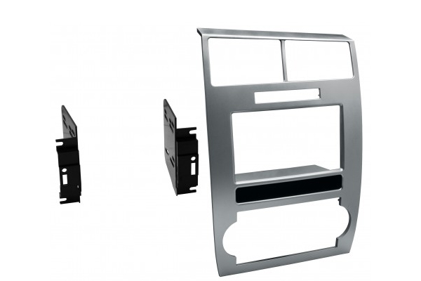 CDK639S / 2006-07 DODGE CHARGER / 2005-07 DODGE MAGNUM / DOUBLE DIN / PAINTED SILVER