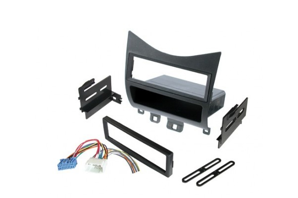 HONK823H / 2003-2007 HONDA ACCORD / RELOCATION KIT w/HARNESS / SINGLE DIN or ISO w/POCKET