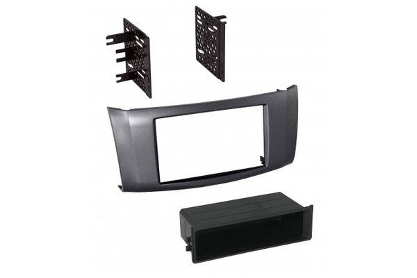 NDK748G / 2013-2018 NISSAN SENTRA / GRAY / SINGLE ISO w/POCKET or DOUBLE DIN