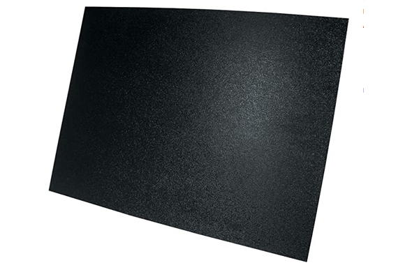 NF1000 / 15X20 GRID ABS SHEET WITH DIN CUT OUT SMOOTH BACK