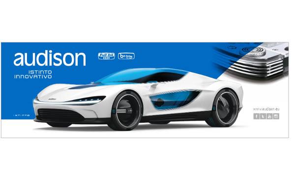 90300544 / AW BANNER.2 – AUDISON PVC BANNER 3x1m