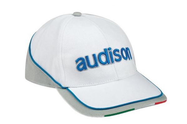 90500001 / AUDISON WHITE/GREY CAP