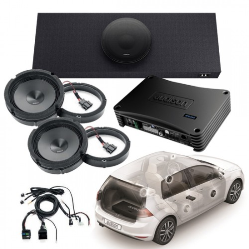 APSPG7_KIT / APSP G7 KIT - CUSTOM AMP+SPEAKERS+ACC. for GOLF7