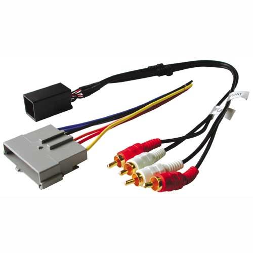 BHA5511R / Ford / Lincoln / Mercury 89-00 Prem Snd - Amp Integration w/ RCA's