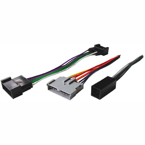 BHA5514 / Ford / Lincoln / Mercury 89-94 Amplifier Bypass Kit - (3 Plugs)