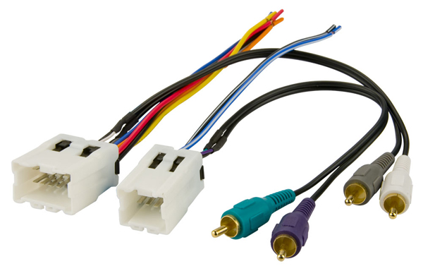 BHA7551 / 1995-2007 Nissan Amp Integration - Aftermarket Radio