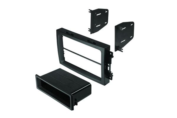 BKCDK649 / 04-08 Chrys / Dodge / Jeep Dbl DIN, DIN w/ Pocket Must Be Used w/ Oe Nav Dash Bezel