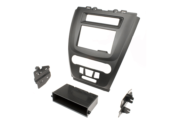 Fd1443BlkB / Ford Fusion 2010 - Black- Non Nav- Dbl DIN / DIN w/ Pocket