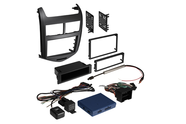 BKGMK315BX / Integrated Solution for 2012 / 2013 Chevy Sonic Jet Black