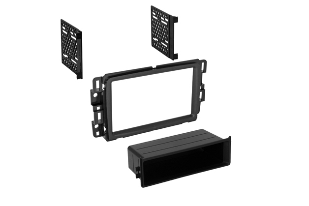 BKGMK403 / 2013-2014 Chevy Traverse / Buick Enclave / GMKc Acadia Single ISO w/ Pocket or Double DIN