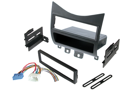 BKHonK823H / Honda Accord 03-Up - w/ Harness Radio Relocation to Factory Pocket