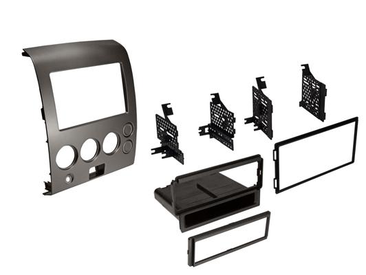 BKNDK7312 / 04-07 Titan (Select Models) Single DIN / ISO w/ Pocket or Dbl DIN, w/ Panel