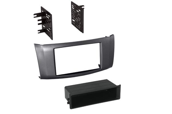 BKNDK748G / 2013 Nissan Sentra Single ISO w/ Pocket or Dbl DIN - Gray