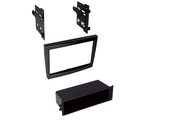 BKPor911B / 2005-2011 Porsche 911, Boxster and Cayman Dash Kit Single ISO or Double DIN