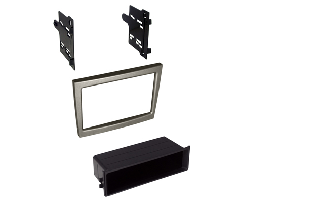 BKPor911S / 2005-2011 Porsche 911, Boxster and Cayman Dash Kit Single ISO or Double DIN