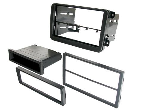 BKVWK1017 / VW Gti 06 / Jetta 05-Up Passat 06 - Dbl DIN / DIN w/ Pocket
