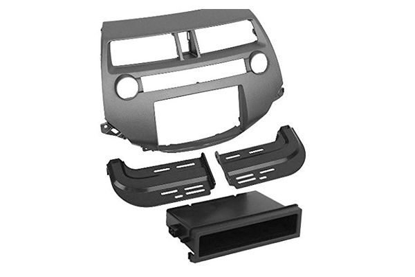HA1707DGB / Honda Accord 2008 - Dbl DIN / DIN w/ Pocket - Dark Gray