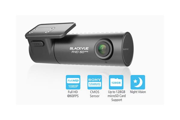 DR590-1CH-32 / 1 CHANNEL DASHCAM 1080P, 60FPS, 32GB, MEMORY CARD LOCK