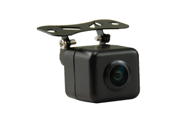 VTB100TJ / Rearview camera with trajectory parking lines.