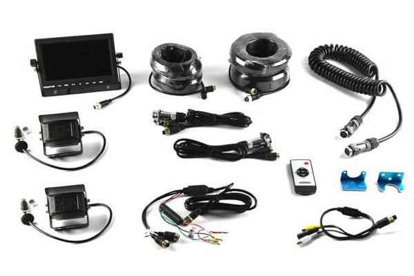 9002-7803 / UNIVERSAL TWO CAMERA TRAILER SYSTEM W/ 7