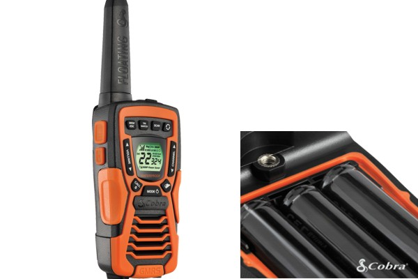 CTX1035RFLT / FRS WALKIE TALKIE - UHF, WATERPROOF