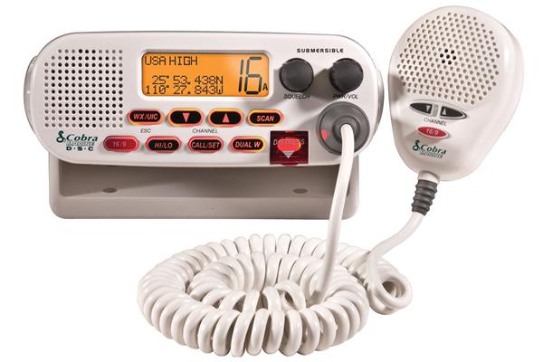 MRF45-D / FIXED MARINE VHF RADIO, CLASS-D, WHITE