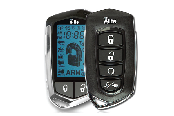 CA6555E / ELITE ALARM/STARTER 2 WAY LCD REMOTE W/ TILT SENSOR