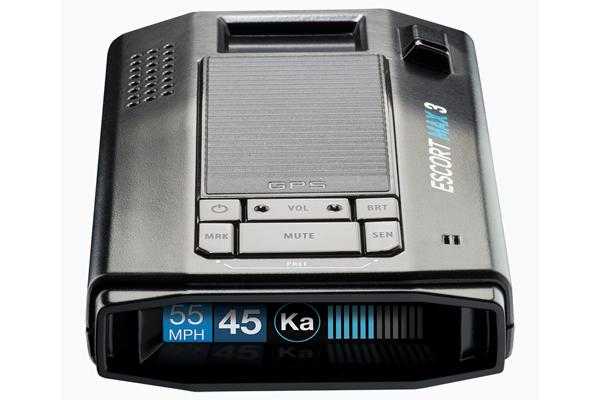 MAX3 / NEW RADAR DETECTOR, IVT, MRCD, GPS, PREMIUM RANGE