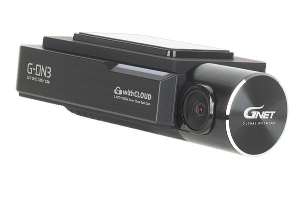 G-ON3B / 3-CHAN DASHCAM, QHD FRONT + DUAL 1080P INFRARED INTERNAL CAMS, 128GB, WIFI