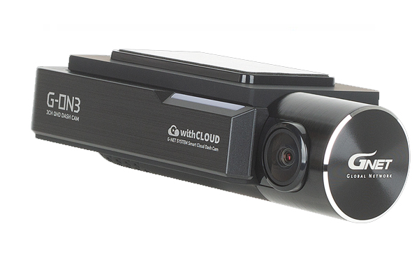 G-ON3T2 / 3-CHAN DASHCAM, QHD FRONT, and DUAL 1080P EXTERIOR CAMS, 128GB, WIFI
