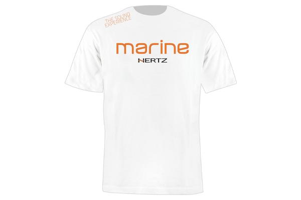 90513112 / HZ MARINE WHITE SHORT SLEEVE T-SHIRT L