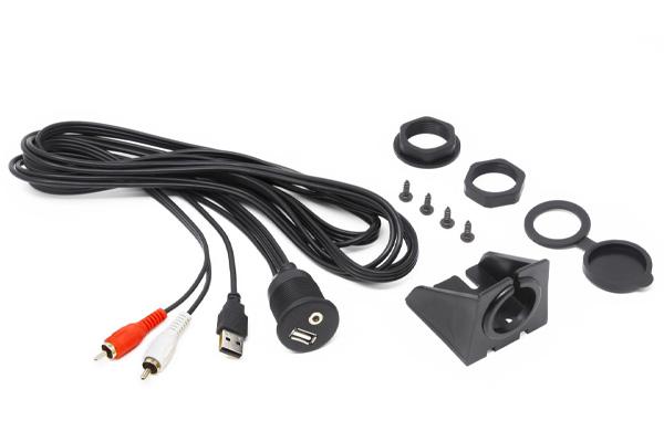 HMAUSBAUX / HMA USB AUX IN - EXTENSION CABLE WATERPROOF 2MT
