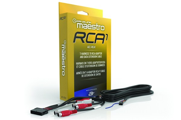 ACC-RCA1 / RCA1 RCA adapter for DSP harnesses