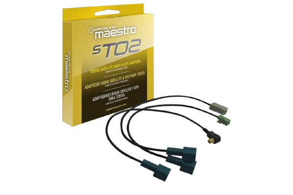 Maestro Acc-SAT-TO2 Sat Radio and GPS Antenna adaptors for TO2 Vehicles