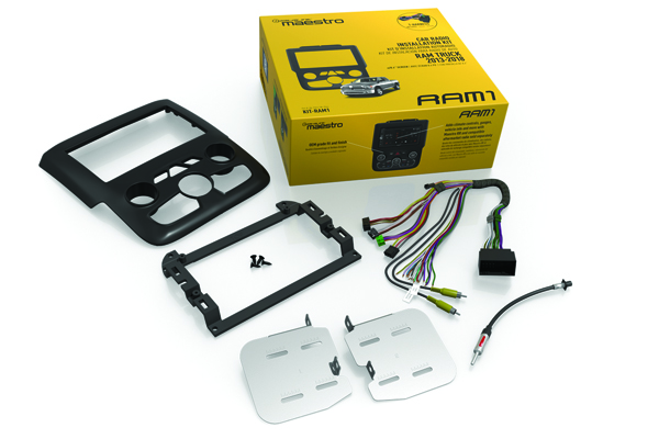 KIT-RAM1 / RAM1 Dash Kit and T-harness for 2013-2018 Ram Pickups with Navigation