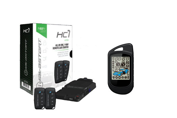 HC1.5LCD / HC1151A AND TR2550A (LCD REMOTE) BUNDLE