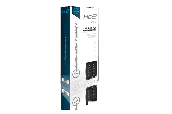 HC2352AC / Web-programmable all-in-one remote starter (2) 2-way, 5-button transmitters