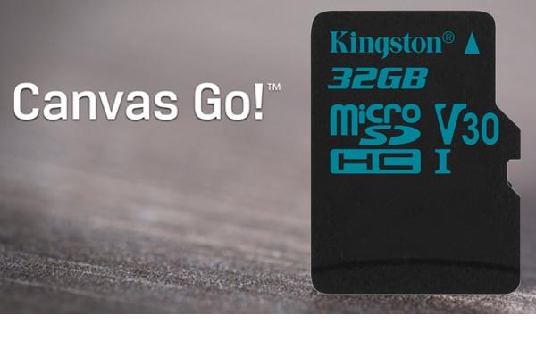 SDCG2/32GBCR / Canvas Go! UHS-1 U3 High Perform MicroSD Card - 32GB