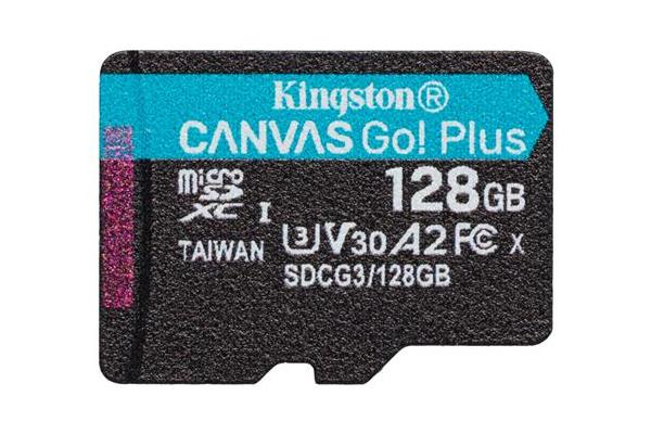 SDCG3/128GBCR / Canvas Go! Plus U3/V70 High Performance MicroSD Card - 128GB