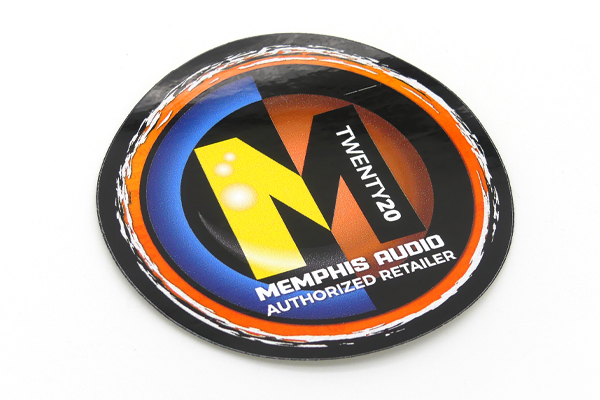 90-MADECAL / 2020 MEMPHIS AUDIO AUTHORIZED DEALER DECAL
