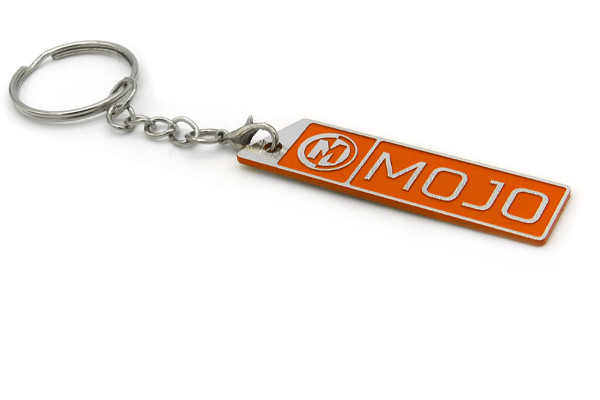 MOJOKEY / MOJO BADGE KEY RING