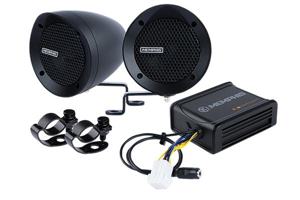 MXABMB2 / bar mount 2 Speaker system w amp black