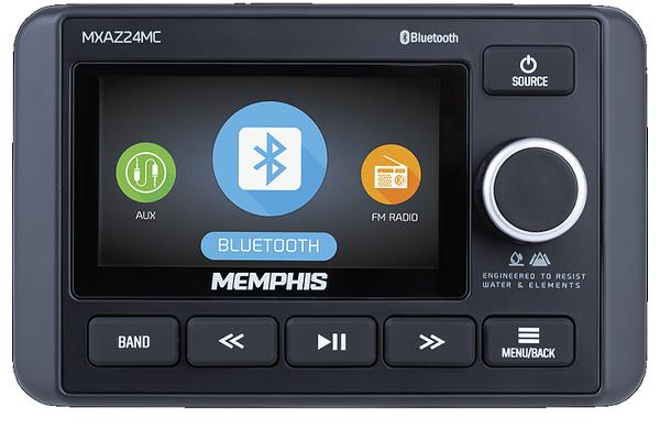 MXAZ24MC / Bluetooth Multi Zone Media Center with video input