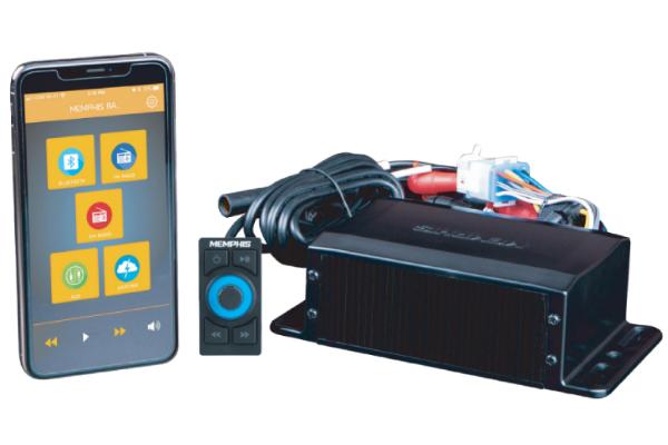 SMC2A / App based black box Media Center w/ Rotary knob
