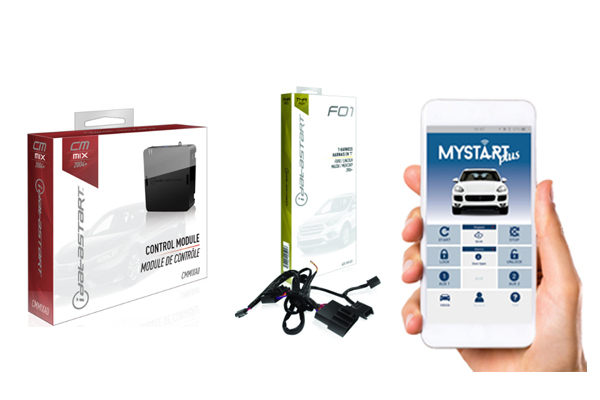 CMMIXA0-FO1-MS2 / IDATASTART FORD REMOTE START CONTROL MODULE WITH FO1 T-HARNESS AND MYSTART