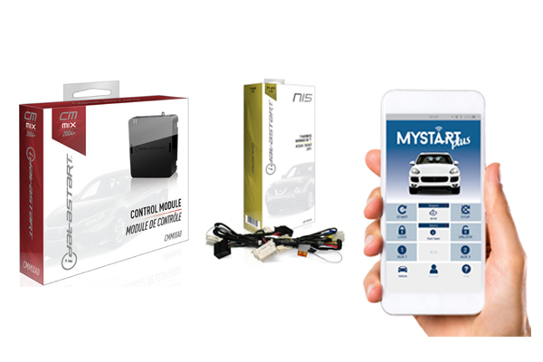 CMMIXA0-NI5-MS2 / IDATASTART NISSAN REMOTE START CONTROL MODULE WITH NI5 T-HARNESS AND MYSTART