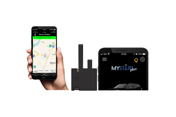 HCX-GPS5040 / HCX000A RS DIGITAL MODULE & MYSTART PLUS GPS GPS5040 COMBO