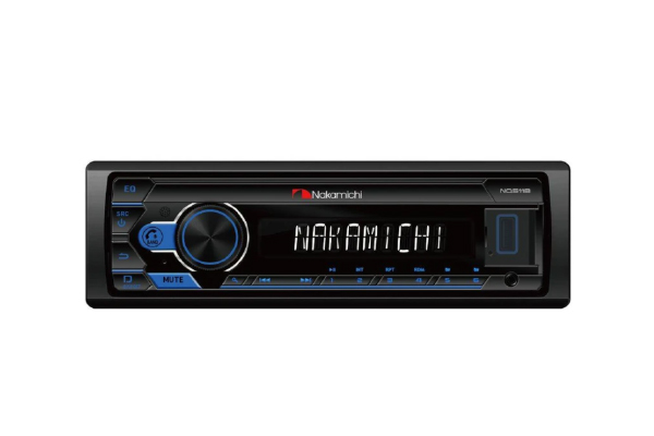 NQ511B / 1DIN Mechless, USB, BT, Lossless, App Control, Fixed, RGB